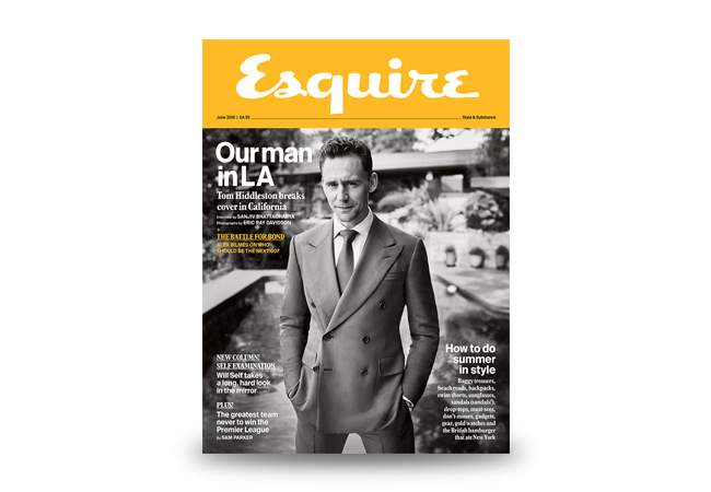 Esquire June 2016 issue is out now.